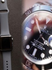 Apple Watch and Rolex - Fake Watch Scams