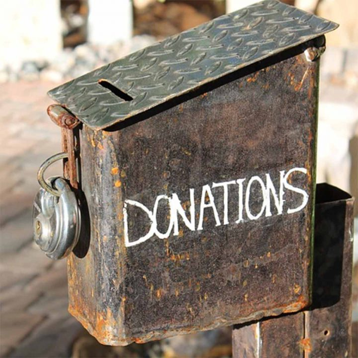 Charity scams